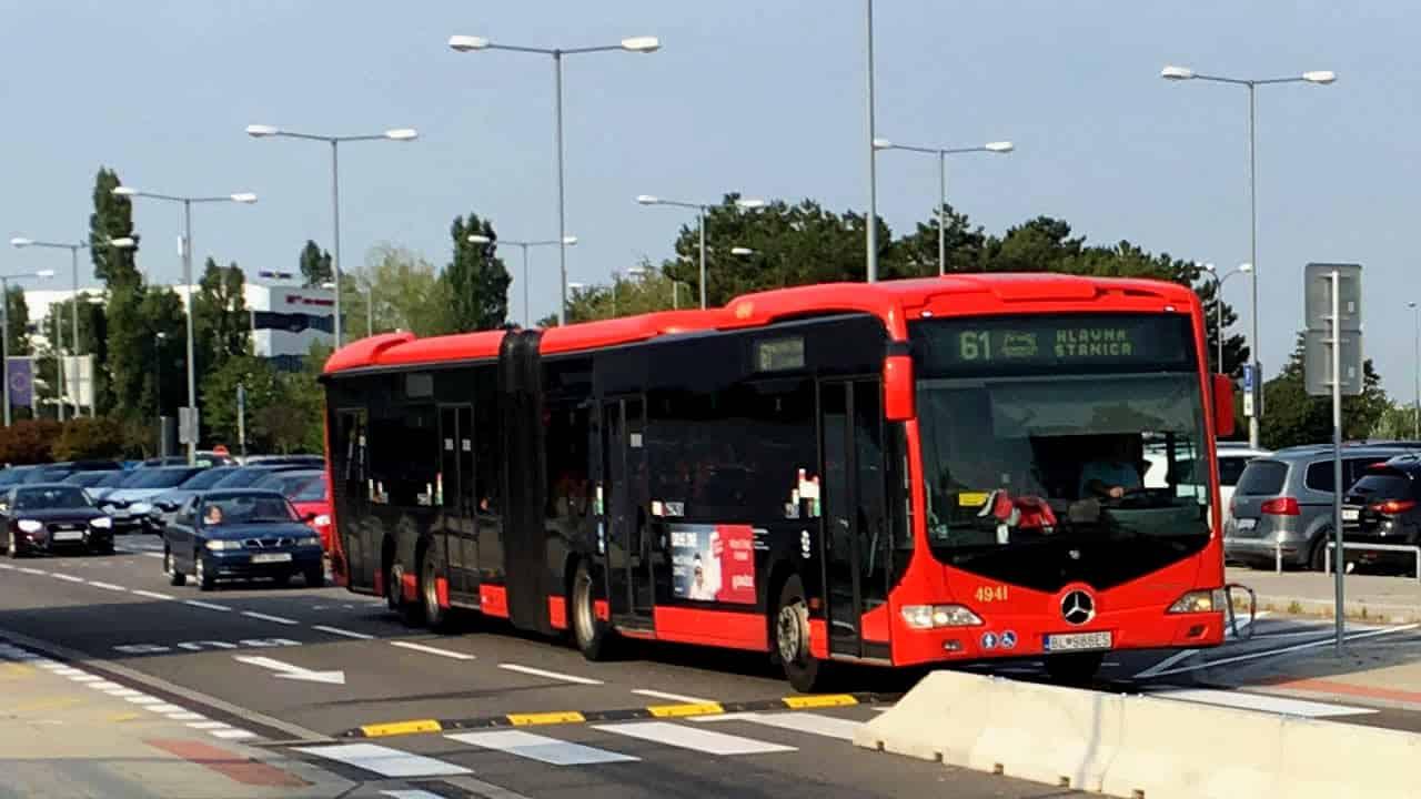Bus Aeroporto Bratislava