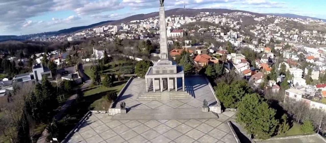 Monumento Slavin Bratislava